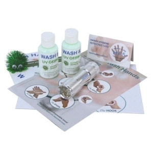 WASH and GLOW Hand Hygiene Mini-Training Kit 1
