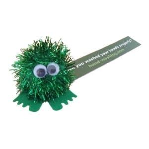 Hygiene Reminder Glitter Bugs