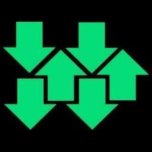 Night Signs - Luminus Large Arrow Markers