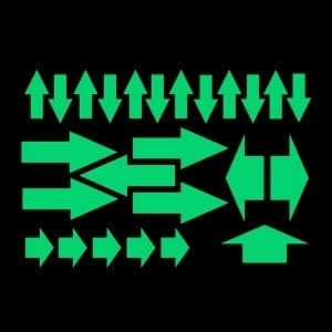 Night Signs - Luminus Arrow Markers