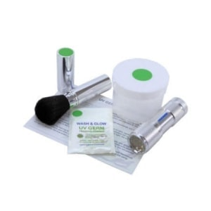 UV GERM Training Powder Kit in green