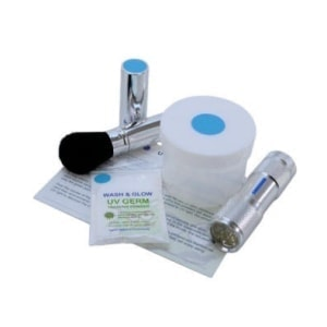 UV GERM Training Powder Kit blue