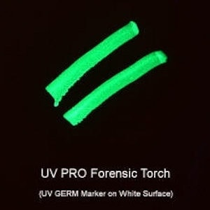 UV PRO Forensic Torch Test