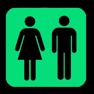 Night Signs - Luminous Unisex Toilet