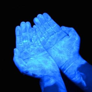 UV GERM Training Lotion