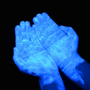 Blue UV GERM Training Lotion