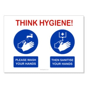 Hand Hygiene Awareness Stickers