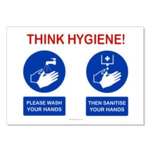 Hand Hygiene Awareness Stickers