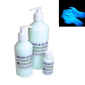 Uv Germ Blue Training Lotion