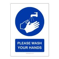 Hand Washing Reminder Stickers