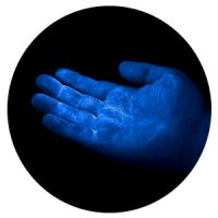 UV GERM Cuddle Bug - blue hand glow