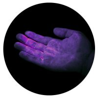 UV GERM Cuddle Bug - Red hand glow